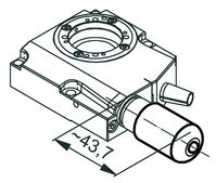 RS-40 stepper motor drawing